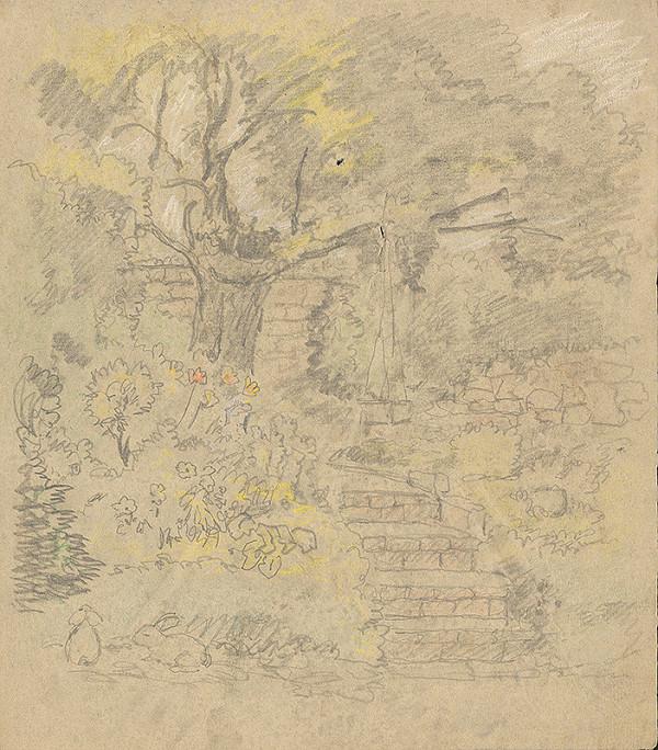 Karol Frech - Schody v záhrade