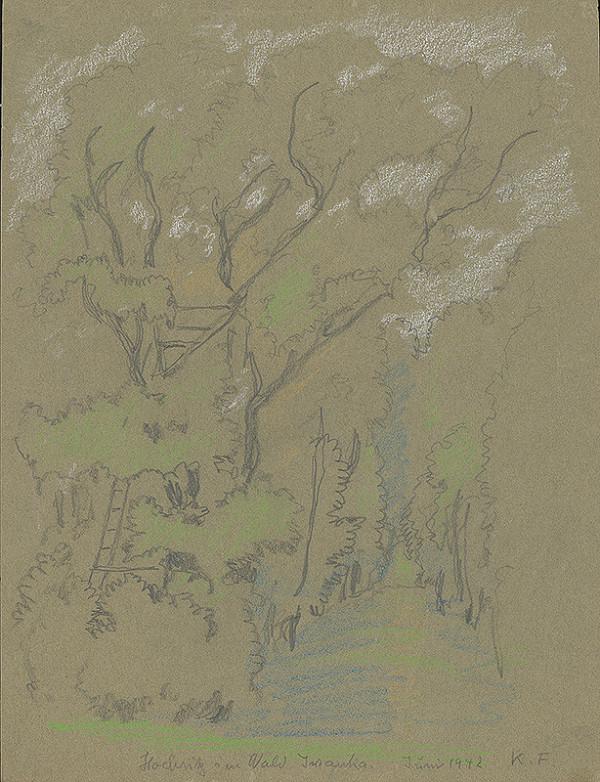 Karol Frech - Postrieška v lese
