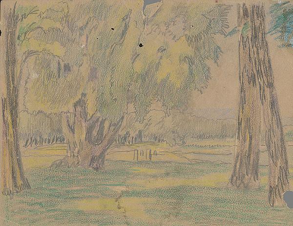 Karol Frech - Krajina so stromami