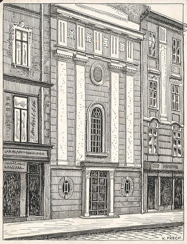 Karol Frech – Kaplnka sv. Kataríny v Bratislave