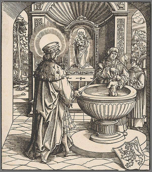 Stredoeurópsky grafik zo 16. storočia - Svätý