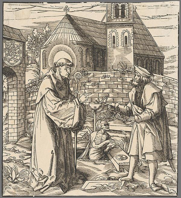 Hans Burgkmair st. – Svätý Fridolín