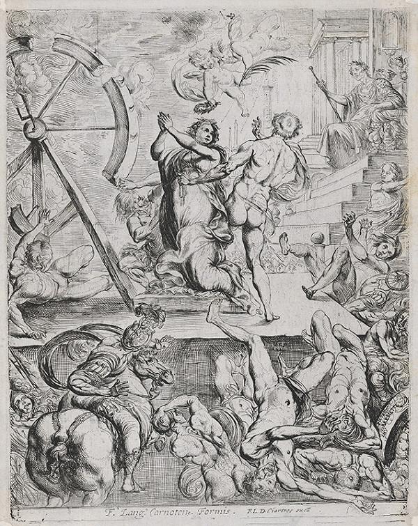 Pierre Brebiette – Umučenie sv. Kataríny