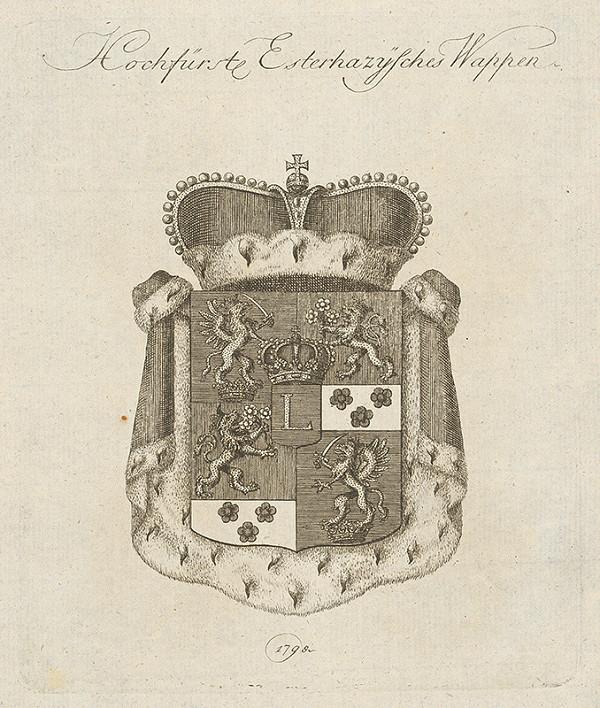 Stredoeurópsky grafik z 18. storočia – Erb