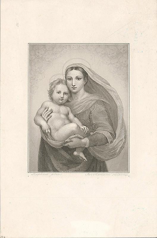 Josef Axmann, Raffael – Sixtínska Madona