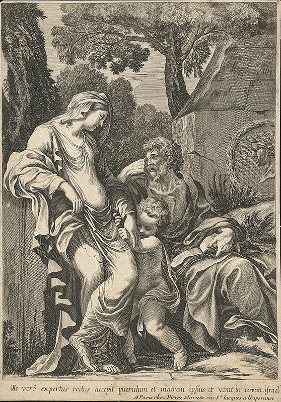 Stredoeurópsky grafik zo 17. storočia, Pierre Mariette – Svätá rodina