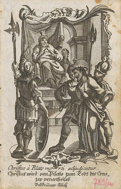 Ignatz Franz Oefele – Via Crucis Statio I.