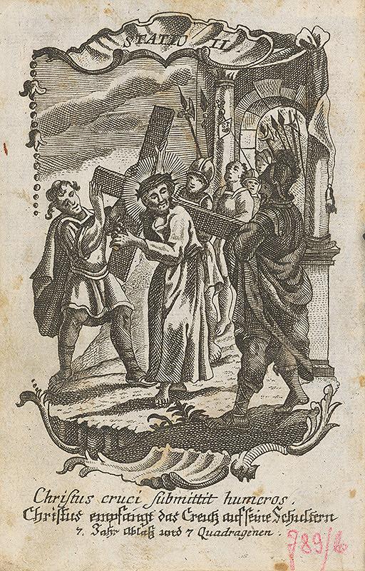 Ignatz Franz Oefele – Via Crucis Statio II.