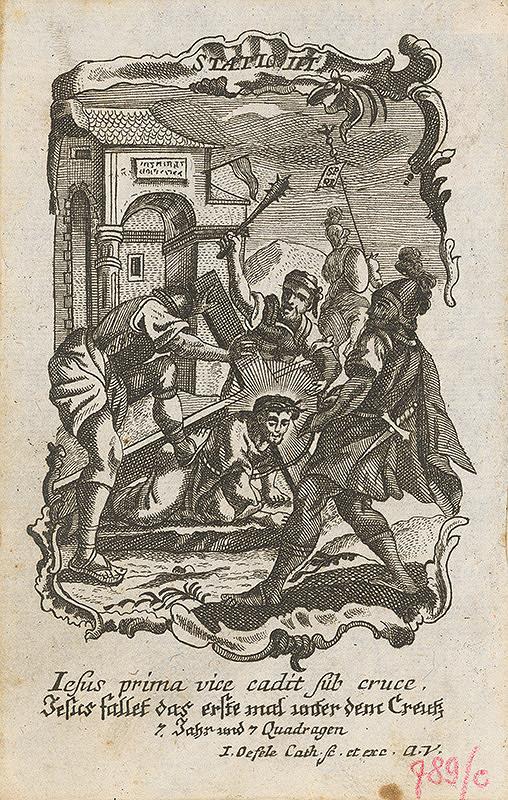 Franz Ignaz Oefele – Via Crucis Statio III.