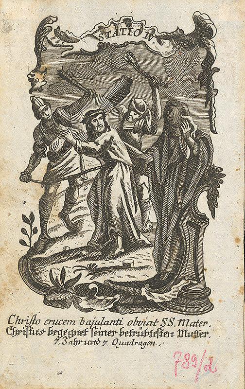 Franz Ignaz Oefele – Kristus stretáva svoju matku