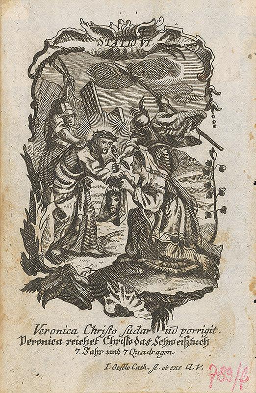 Ignatz Franz Oefele – Via Crucis Statio VI.