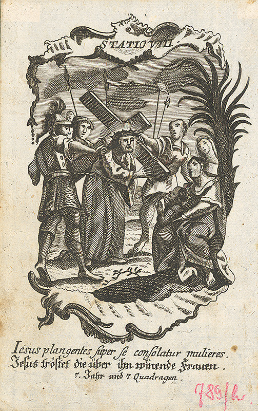 Franz Ignaz Oefele – Via Crucis Statio VIII.