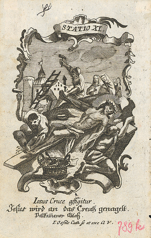 Franz Ignaz Oefele – Via Crucis Statio XI.