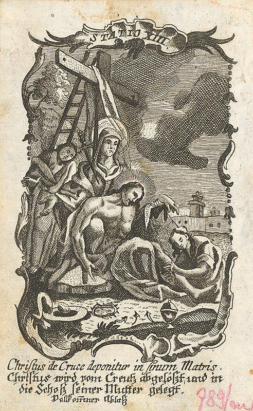 Franz Ignaz Oefele – Snímanie z kríža