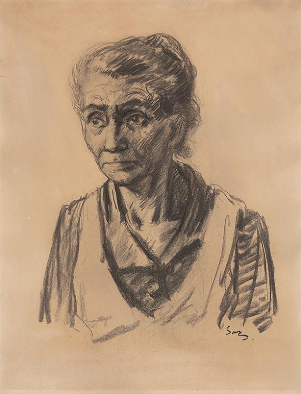 Ivan Sors - Portrét staršej ženy