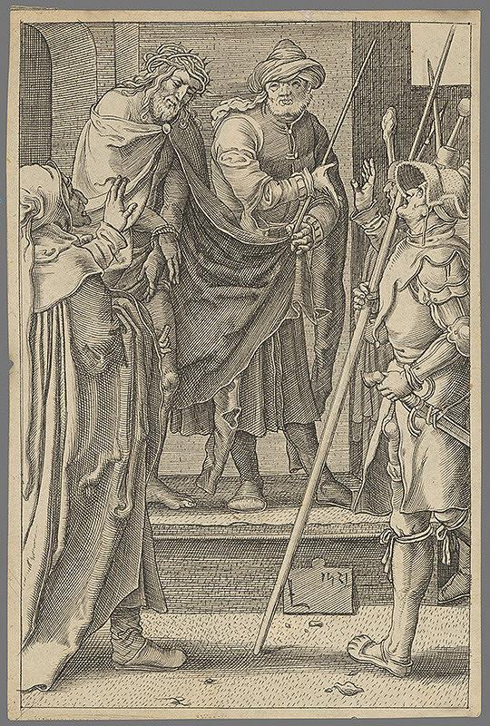 Lucas van Leyden - Korunovanie Krista
