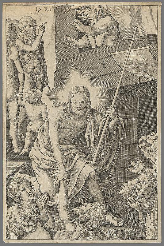 Lucas van Leyden – Kristus v predpeklí