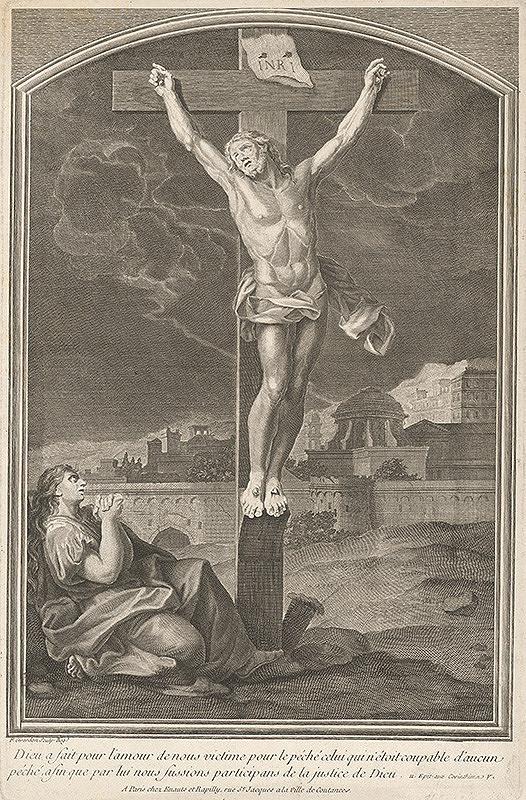 Francois Girardon – Kristus na kríži
