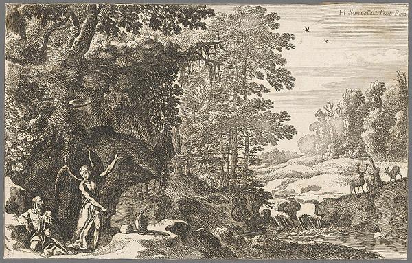 Herman van Swanevelt - Eliáš