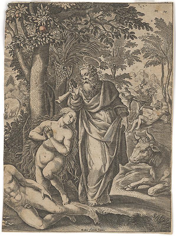 Florimi Matteo - Adam a Eva v raji