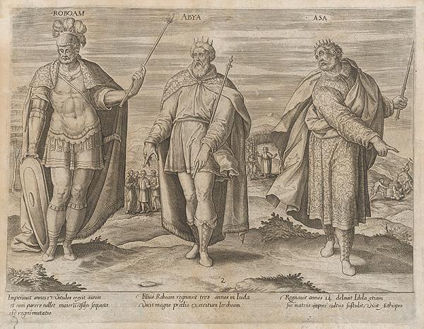 Gerard de Jode - Izraelskí králi II.