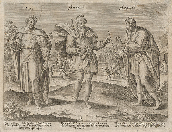 Gerard de Jode - Izraelskí králi IV.
