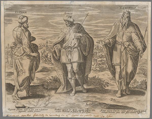 Gerard de Jode - Izraelskí králi V.