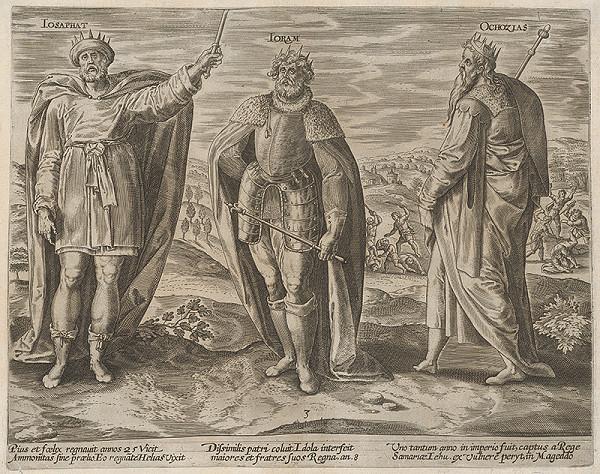 Gerard de Jode - Izraelskí králi III.