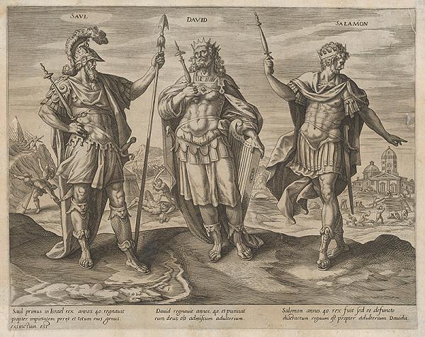 Gerard de Jode - Izraelskí králi I.