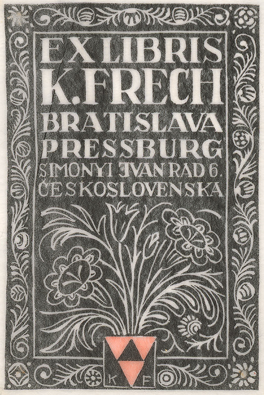 Karol Frech – Ex libris K. Frech