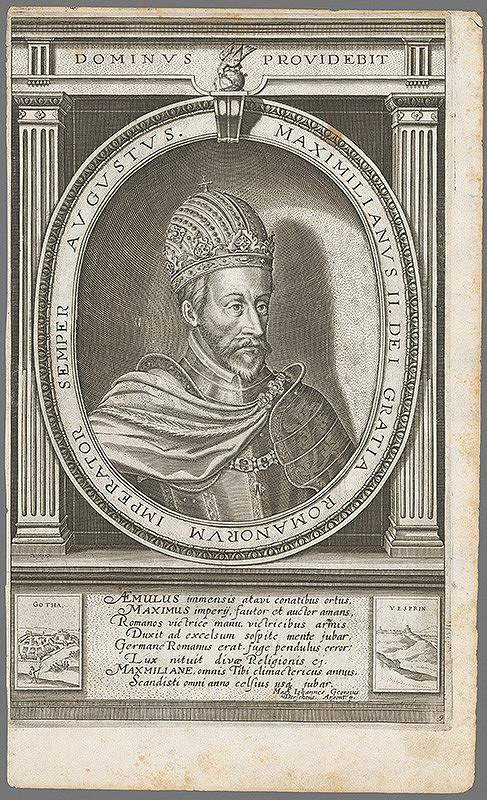 Stredoeurópsky autor z 18. storočia - Portrét Maximiliána II.