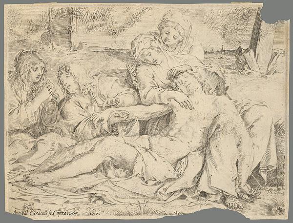 Annibale Carracci - Kristus z Caprarola