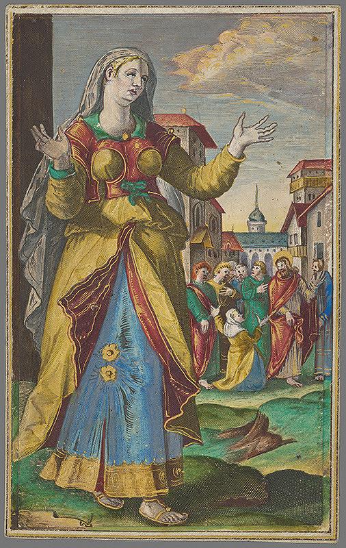 Johannes Collaert, Maarten de Vos st., Philip Galle - Mária matka Jakubova (12) Maria Jacobi