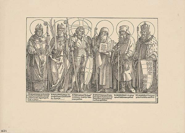 Albrecht Dürer – Skupina svätcov - Svätí patróni Rakúska