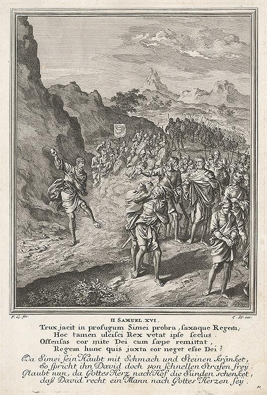Jan Luyken - List z knihy Samuela I.