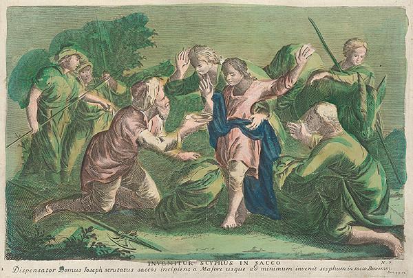 Stredoeurópsky grafik zo 17. storočia – Benjamín