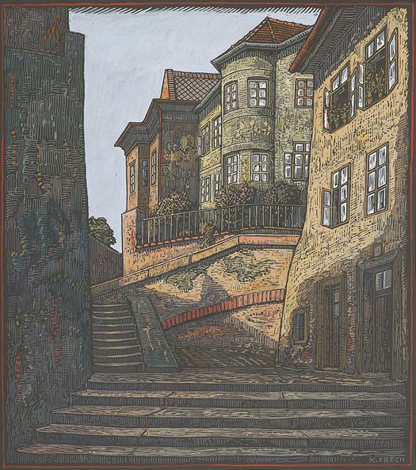 Karol Frech - Zámocké schody I.