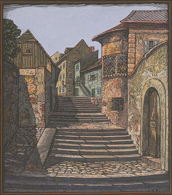 Karol Frech - Zámocké schody II.