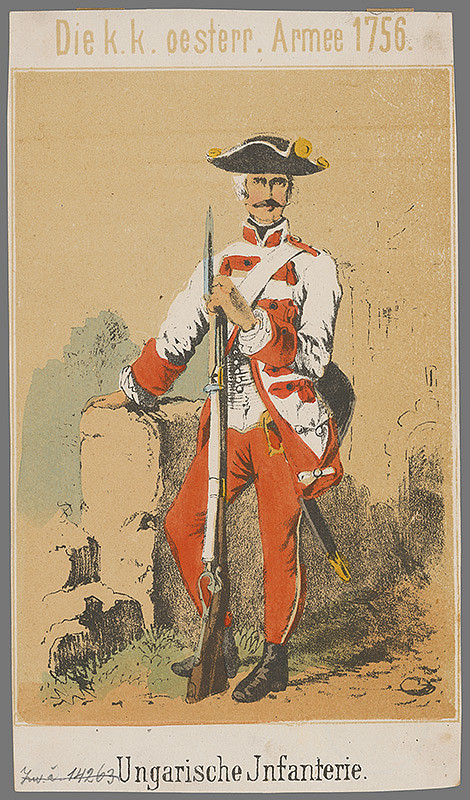 Johann Schönberg - Maďarská pechota