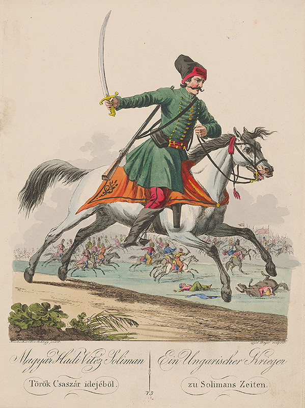 Carl Beyer, József Bikkessy Heinbucher - Maďarský bojovník