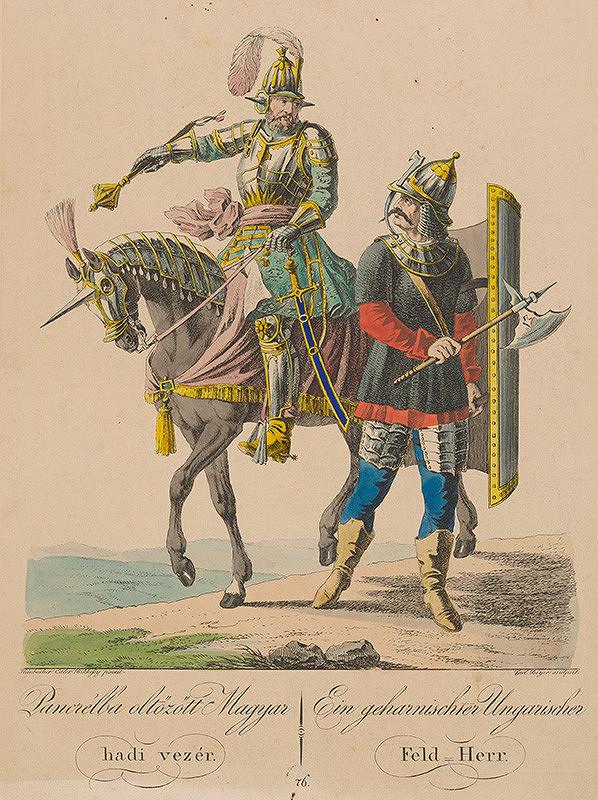 Carl Beyer, József Bikkessy Heinbucher - Maďarský vojvodca