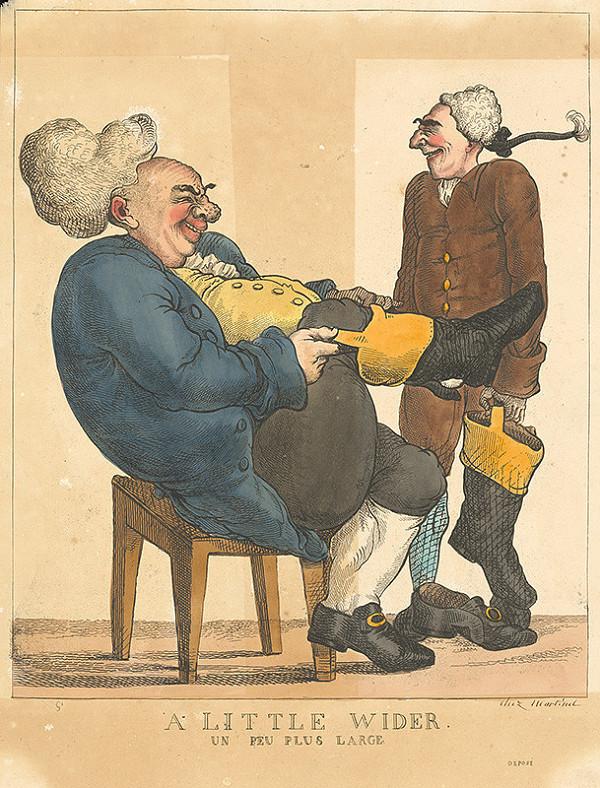 Francúzsky grafik z polovice 19. storočia – Malá čižma
