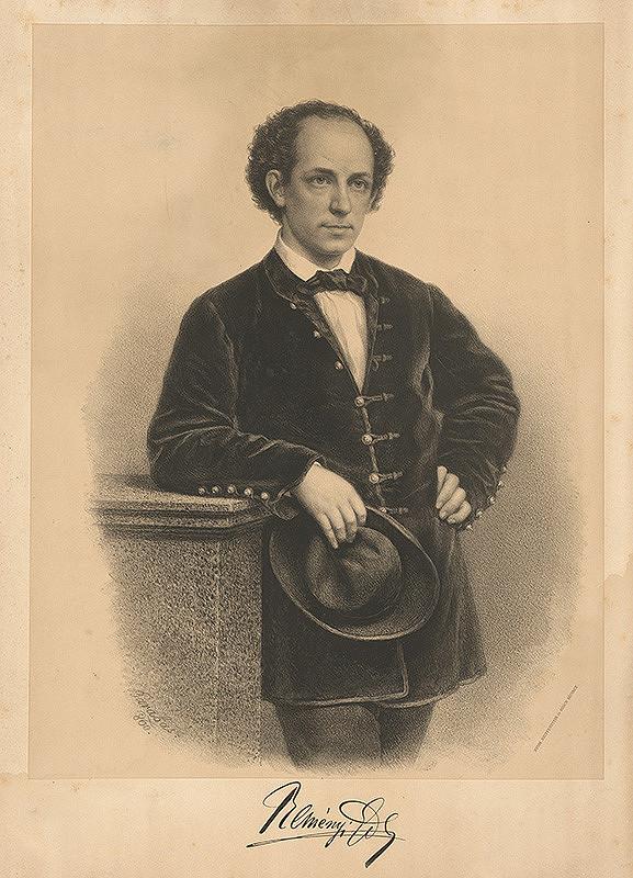 Miklós Barabás – Portrét Keményiho