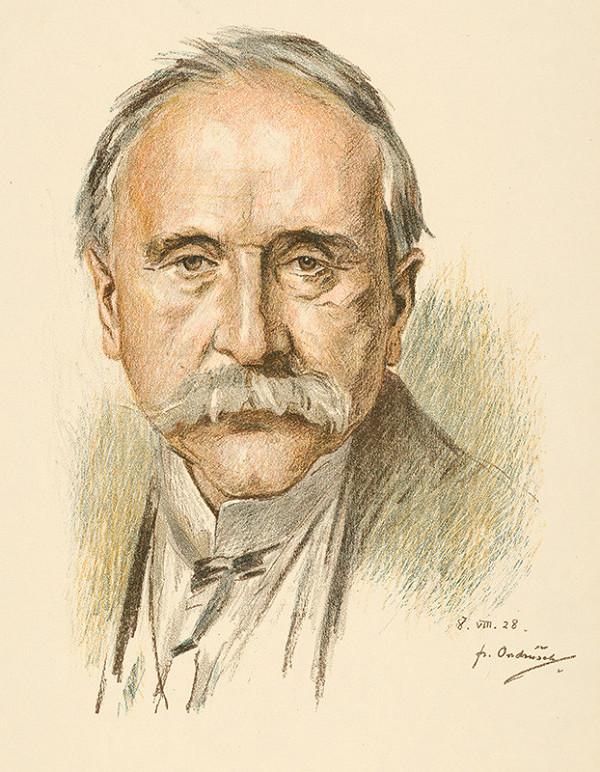 František Ondrúšek – Portrét muža I.