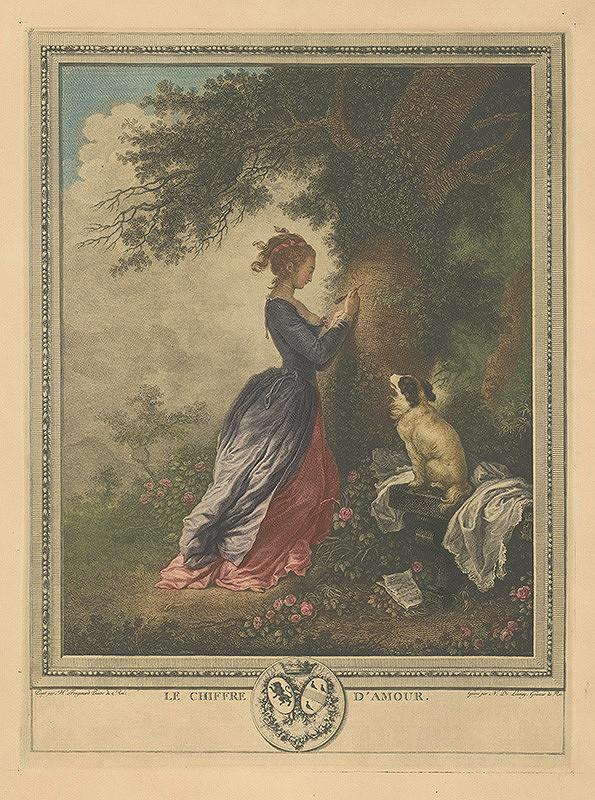 Nicolas Launay, Jean-Honoré Fragonard – Žánrový výjav