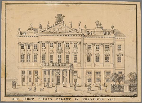 Johann Nepomuk Meyer – Primaciálny palác
