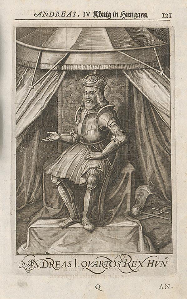 Stredoeurópsky grafik zo 17. storočia – Andreas, IV. König in Hungarn