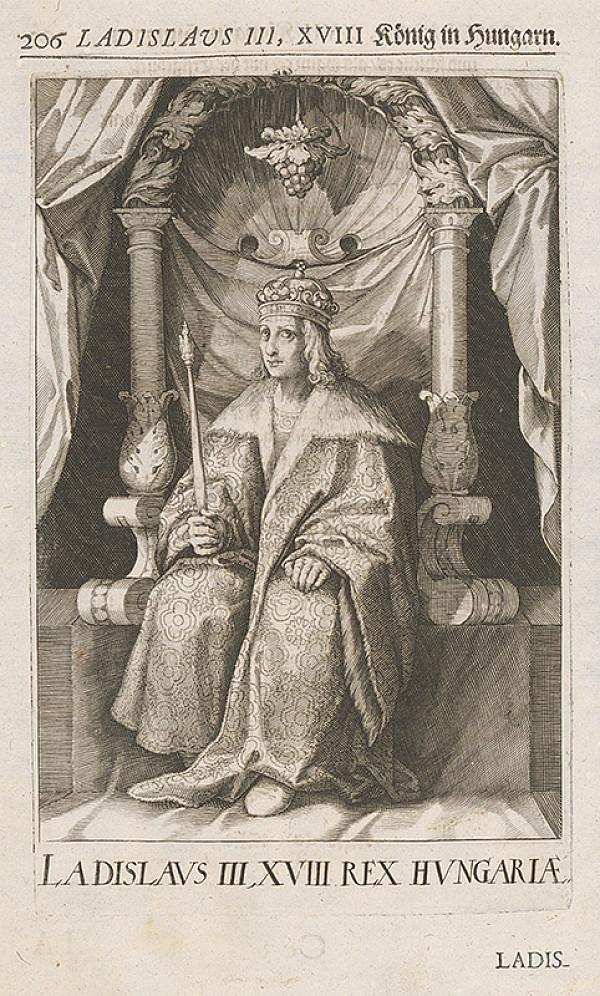 Stredoeurópsky grafik zo 17. storočia – Portrét Ladislava III.