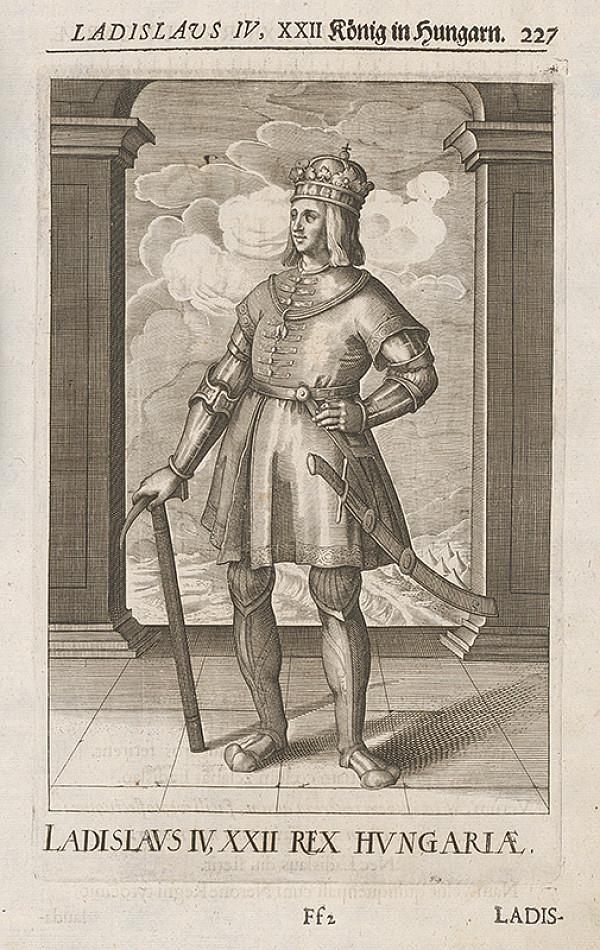 Stredoeurópsky grafik zo 17. storočia – Portrét Ladislava IV. Kumánskeho