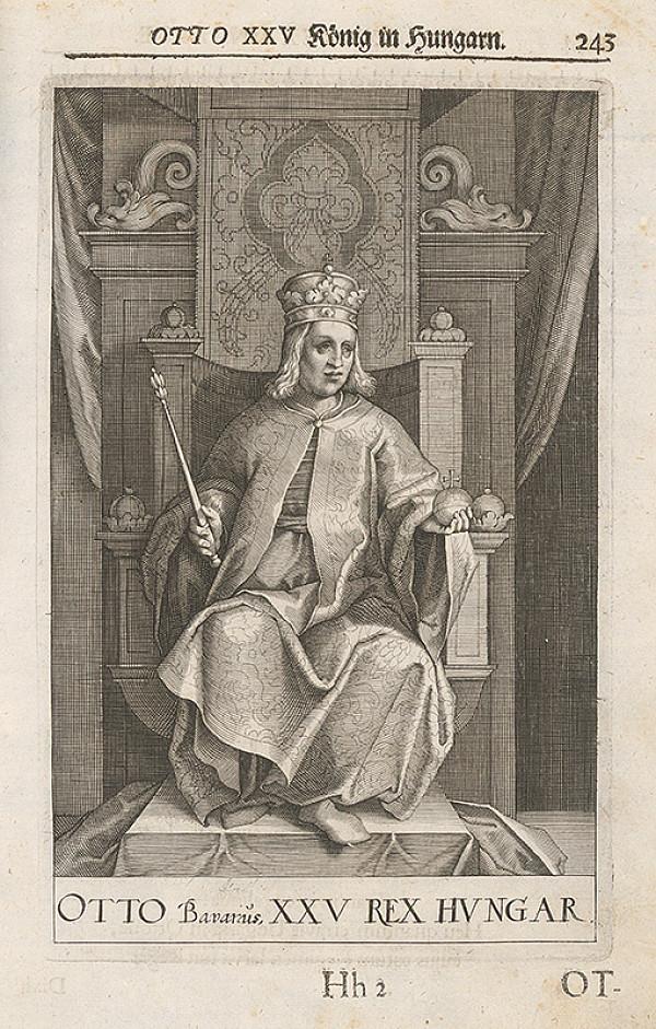 Stredoeurópsky grafik zo 17. storočia – Portrét Otta III. Bavorského